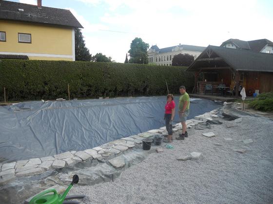Der Wall im Bau