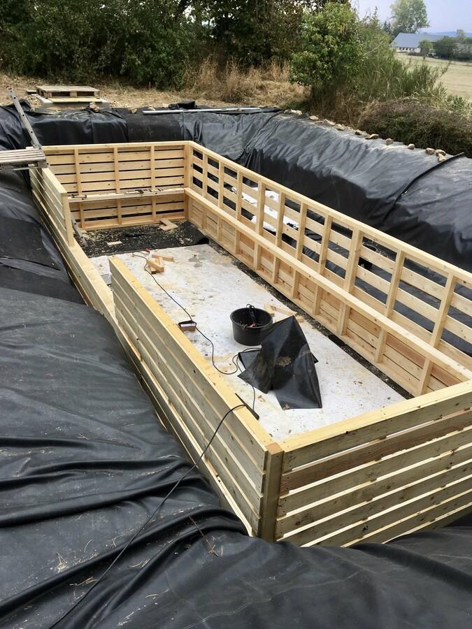 38 Holzrahmen fertig montiert