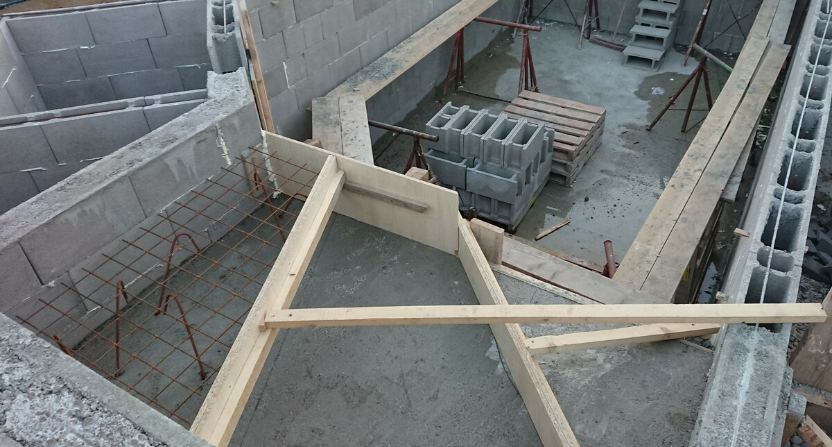 Schalung Stufen
