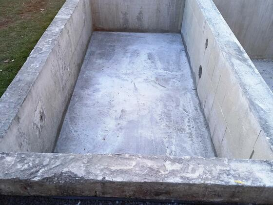 Kiesfilter   4x1,75  Tiefe: 900mm