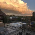 Selbst der Himmel ist entzückt ?