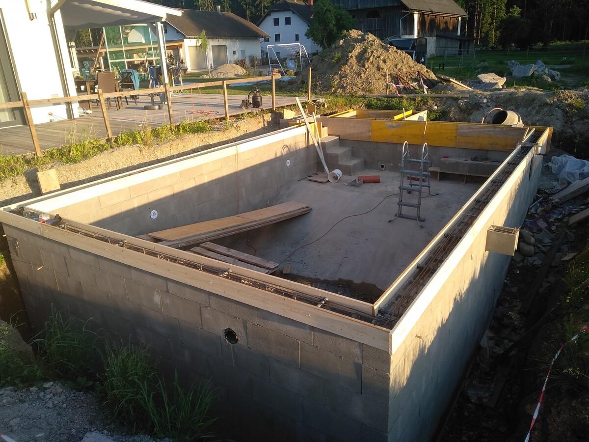 Nur mehr einmal Beton!