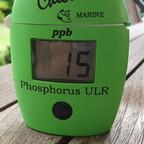 15 ppb - das sind 0,015mg/l Phosphat. Ein Wert, der Algen nicht mehr wachsen lässt.
