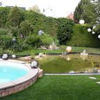 Pool mit Teich